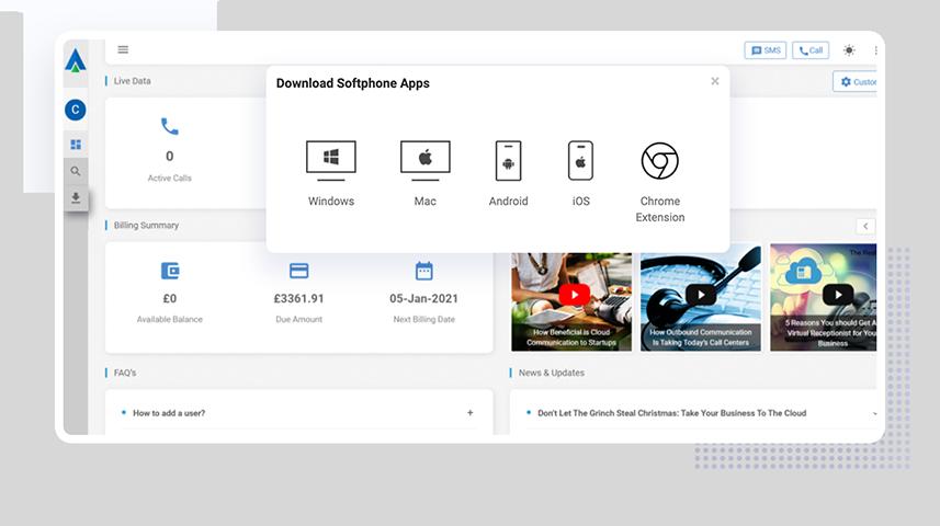 SugarCRM Integration Dashboard